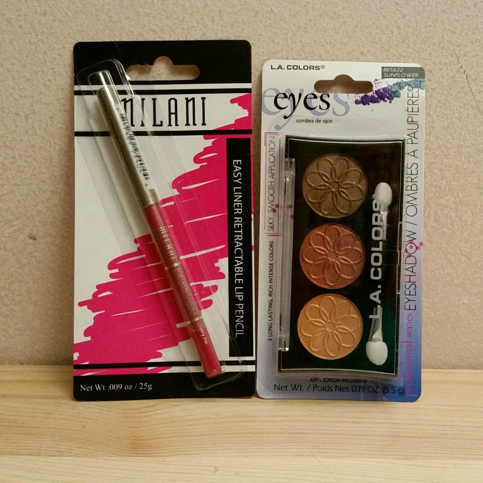 Dollar Tree Beauty Part 2- Milani and L A  Color First