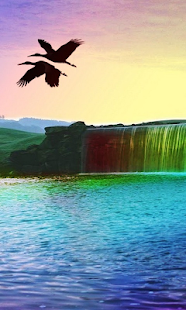 Waterfall 3D Live Wallpaper