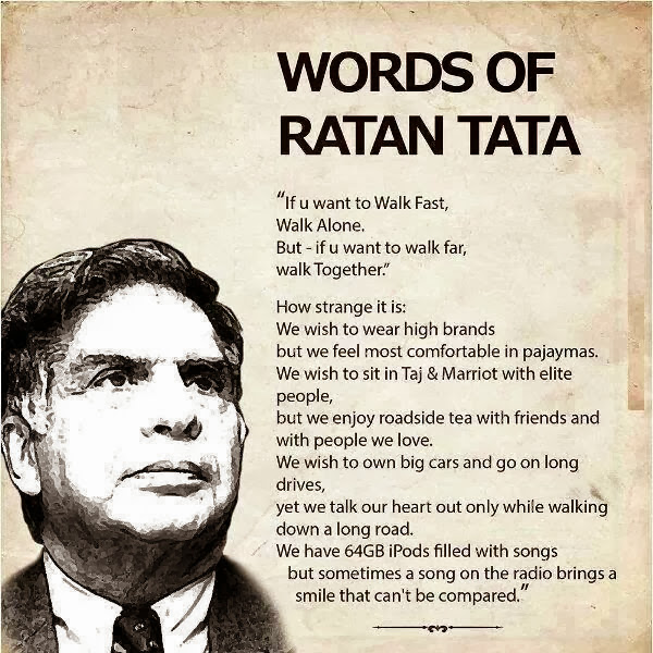 personalities of ratan tata In the midst of an ongoing search process to find ratan tata's successor to head the country's biggest corporate house, top leaders from the group have heaped lavish praise on his leadership style | the qualities that make ratan tata a born leader.