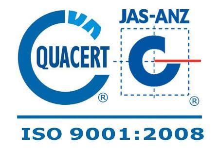 iso 9001 2008 quacert jas-anz
