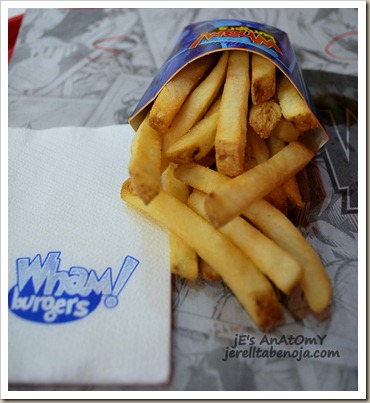 fries, burger, restaurant