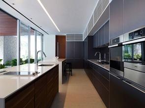 cocina-de-diseño-con-muebles-negros