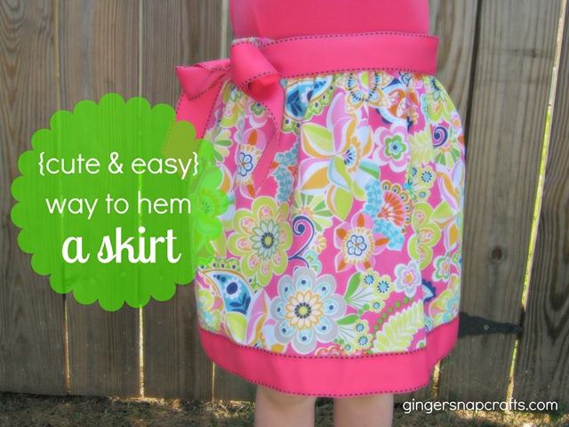 how to hem a skirt