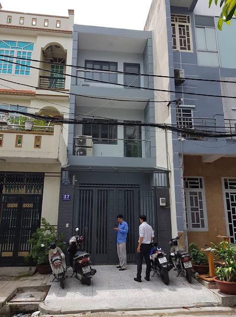 Nhà Mặt Tiền đường Dương Khuê Quận Tân Phú, 4x20, 1 trệt 3 lầu, 10,9 tỷ