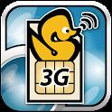 ServersMan SIM 3G 100速度制御解除アプリ logo