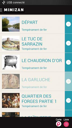 【免費旅遊App】Mimizan360, Sentiers connectés-APP點子