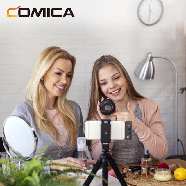 Comica BoomX-D (MI1 / MI2) - Micro Không Dây Cổng Lightning