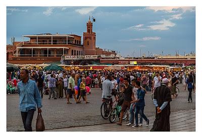 Marrakesch - Gauklerplatz