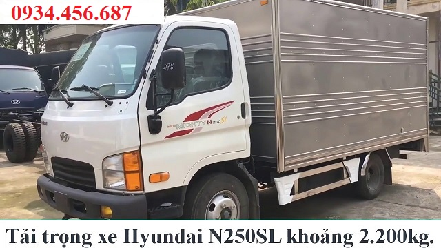 xe tai new mighty n250sl thanh cong