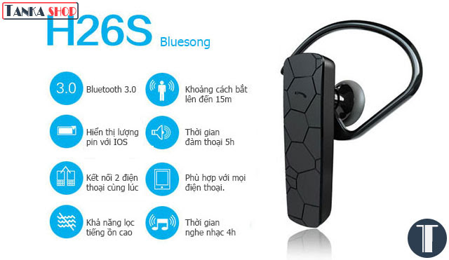 Bluesong H26S