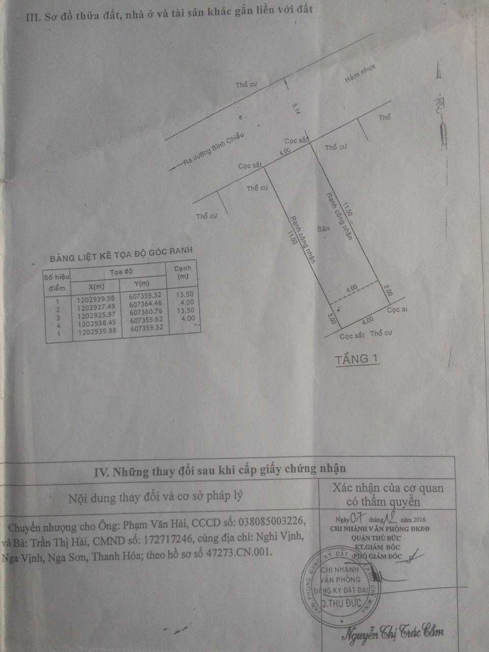 Bán nhà cấp 4 hẻm xe hơi 5m đường Bình Chiểu, diện tích 54m2, giá bán chính chủ 2,8 tỷ5