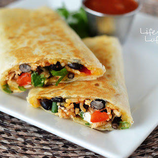 Crispy Southwest Chicken Wraps Recipe