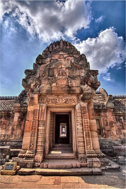 Phanom Rung temple entrance