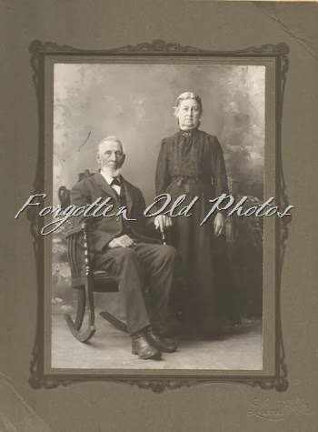 Aunt Lydia and Uncle Jim  Atlamta Iowa CP Number 1490