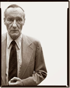 William Burroughs, writer, New York, July 9, 1975