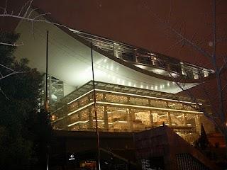 Shanghai Theatre by night