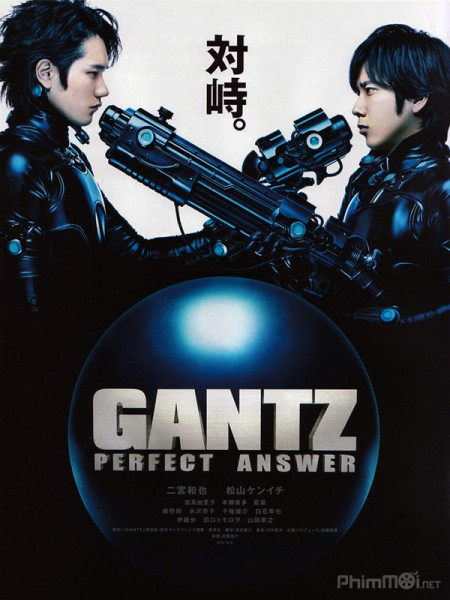 Gantz Live Action Sinh Tử Luân Hồi Phần 2 - Gantz: Perfect Answer (Live-Action Part 2) (2011) VietSUb