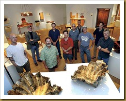 Dan Coyro/Sentinel 10 local woodworkers show their art in a gorgeous show at MAH.