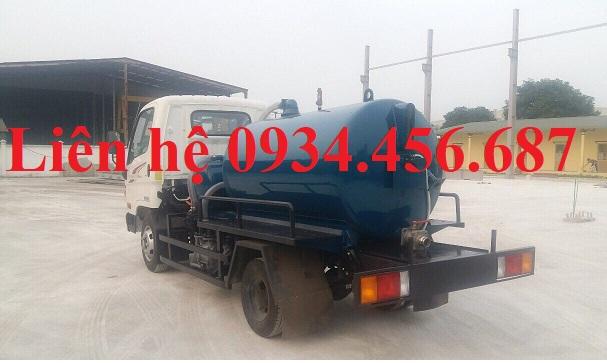 Xe bồn hút chất thải Hyundai N250