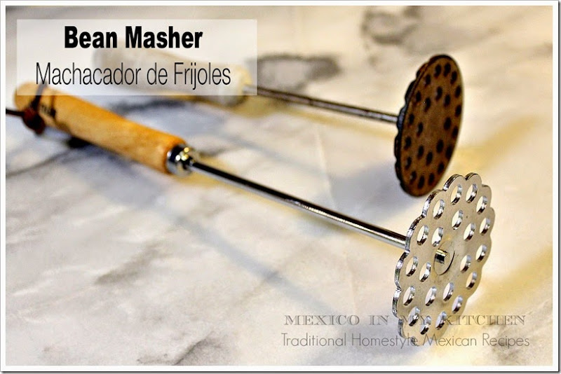 Traditional Mexican Cooking utensils │ bean masher, machacador de frijoles