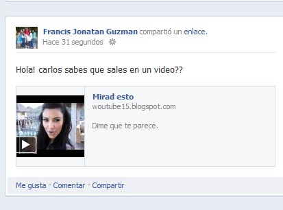 Facebook publicando videos falsos