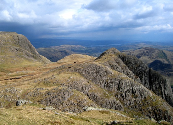 VIEW FROM PIKE OF STICKLE