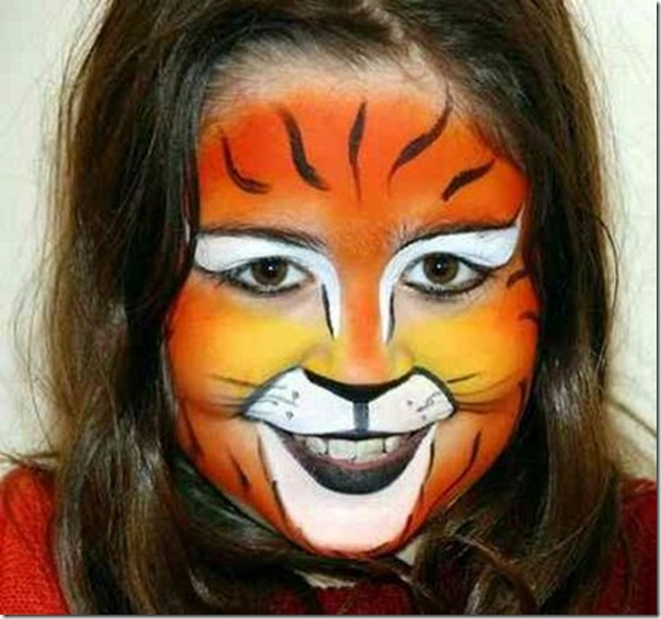 maquillaje tigre todohalloween (6)