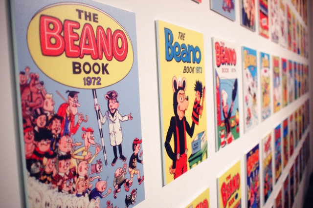 beano issue covers