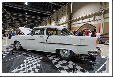 Lawrence Morris' 1955 Chevy Bel Air - Motorama