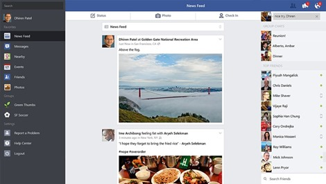 Facebook for Windows 8.1