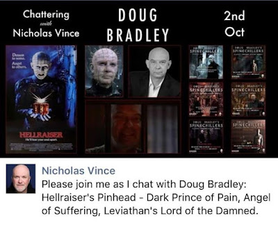 Doug will be joining Nick Vince for a chat tomorrow at 2pm est