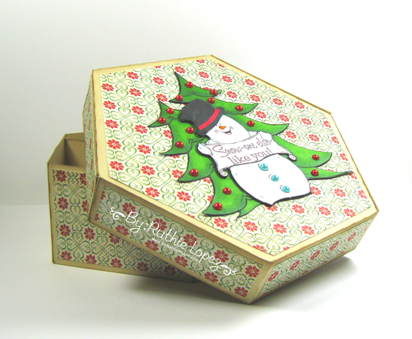 Oakpond Creations - Say what snowman - Ruthie Lopez - Gift Box