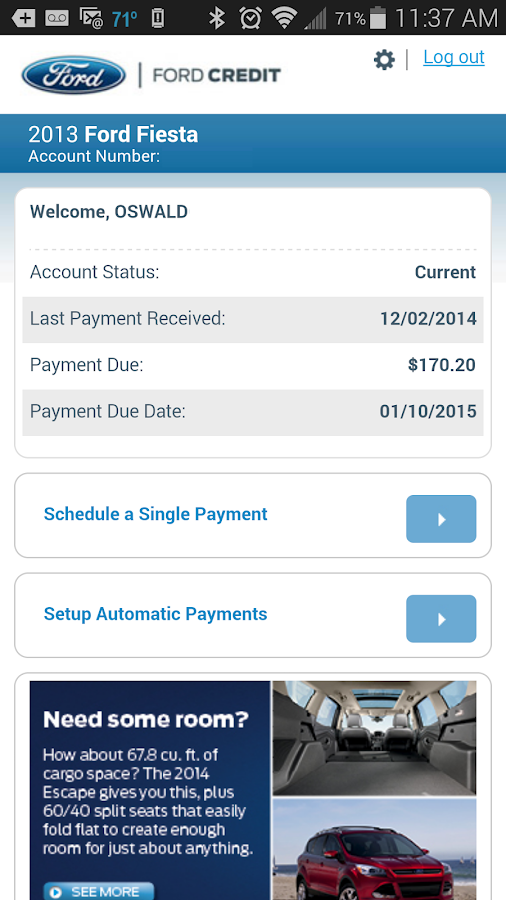 ford motor credit online payment autos post