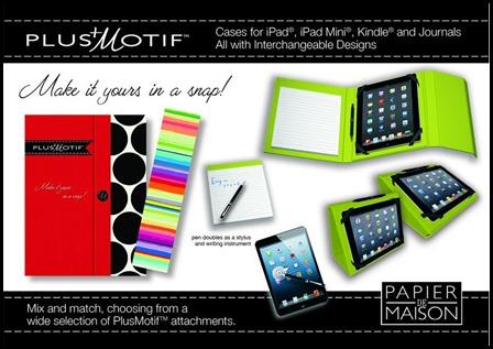 Plus Motif Tablet Covers