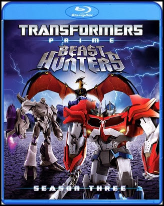 Transformers Prime Beast Hunters Season 3 BluRay