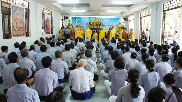 DSC06409 Lễ Hiệp kỵ   Lễ Huý Nhật Cư sĩ Sáng lập viên GĐPT Việt Nam   Tâm Minh Lê Đình Thám