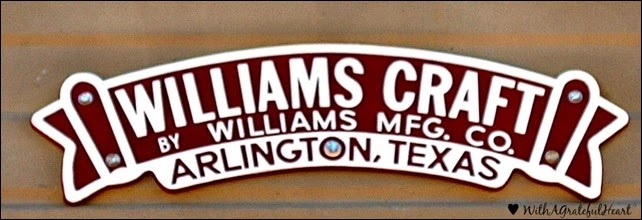 Williams Craft Sign - After