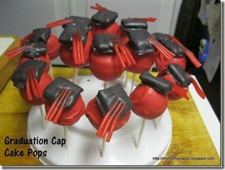 Graduation Cap Cake Pops