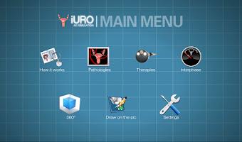 Screenshot of iURO Pelvic Floor