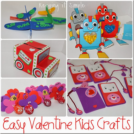 Easy Kids Craft Ideas Part - 23: Easy-valentine-kids-crafts #orientaltrading