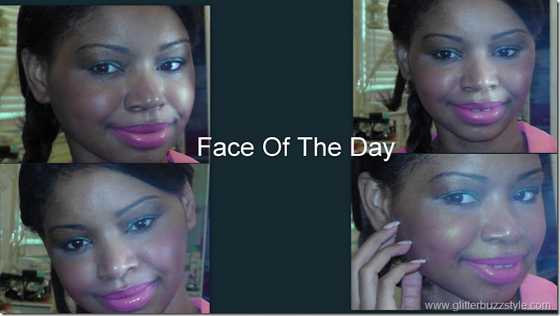 Face Of The Day Green Pop