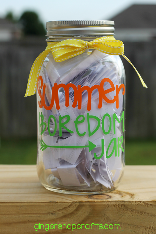 summer boredom jar at GingerSnapCrafts.com