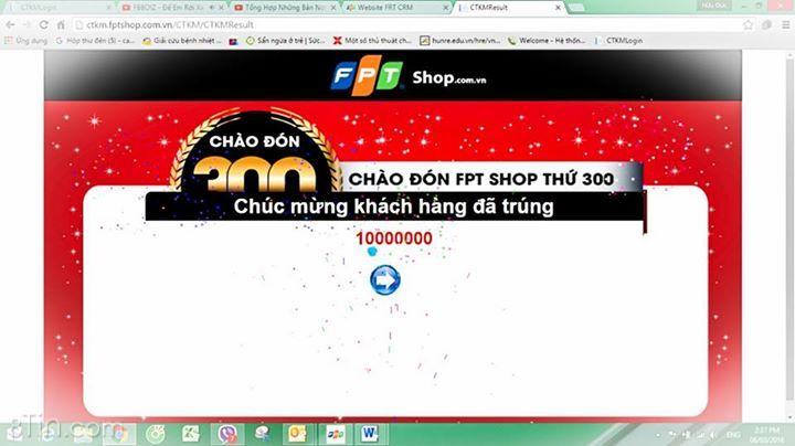 chị Trang đến mua sắm ở FPT Shop 24 Trần Hưng Đạo
