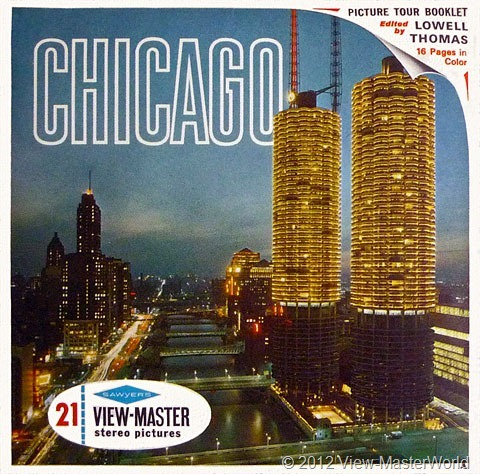 View-Master Chicago (A551), Packet Cover