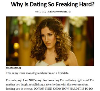 Why dating sucks