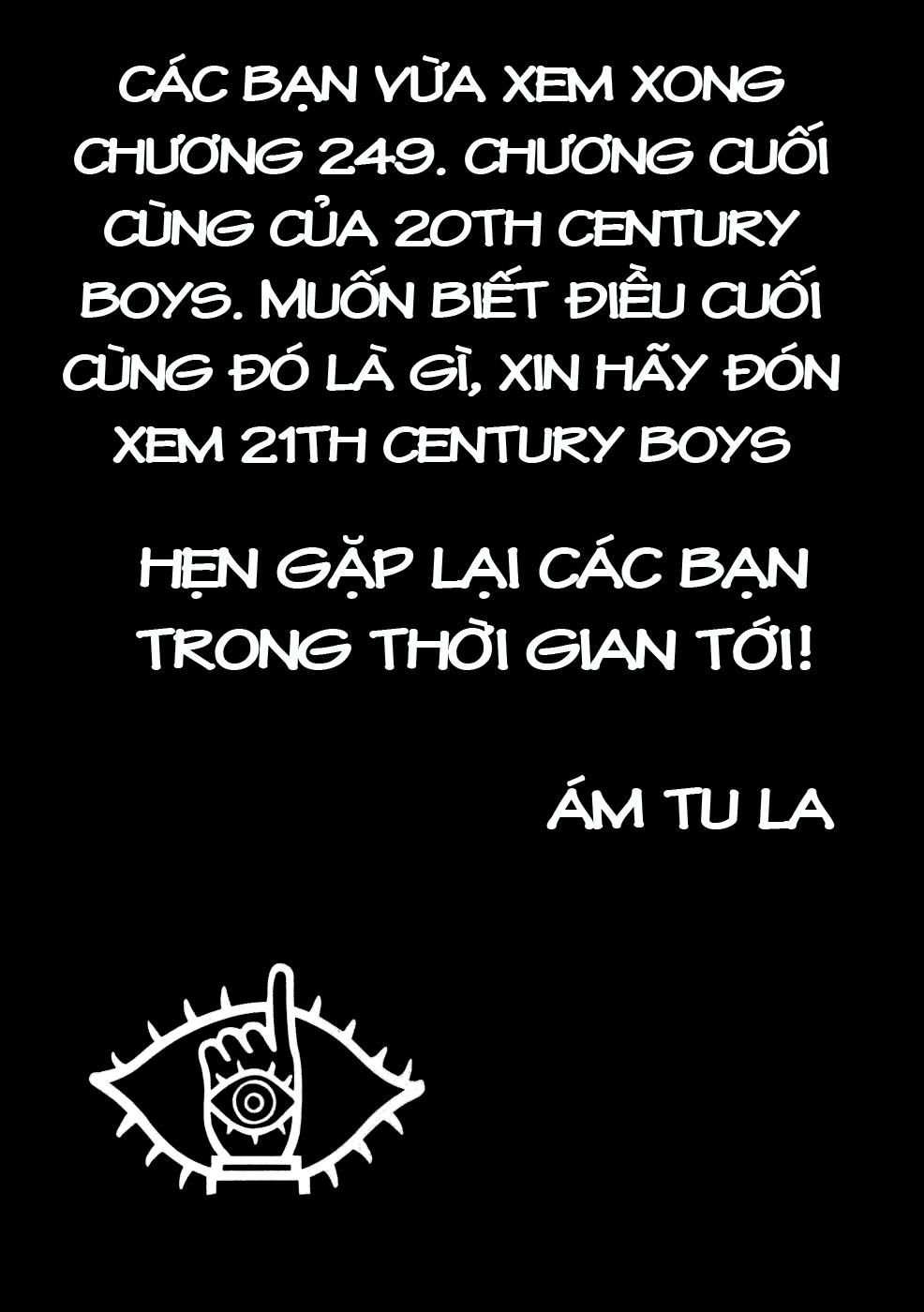 20th Century Boys Chap 249