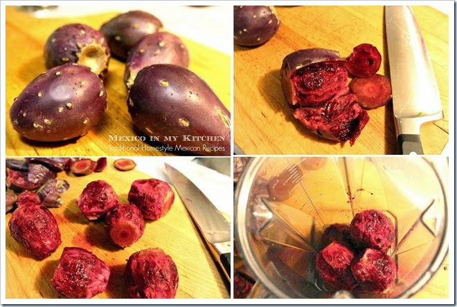 Prickly Pear Drink | Step by step instructions