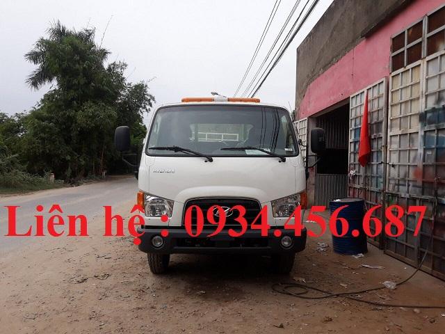 Xe cứu hộ giao thông Hyundai 110s