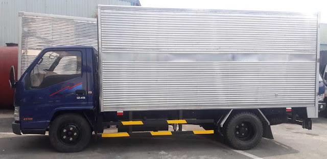 Xe tải IZ49 Đô Thành thùng kín