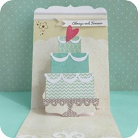 28-cafe-creativo - big shot- scrapbooking - card pop up matrimonio